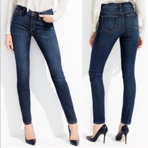 J Crew Lookout High Rise Skinny Jeans 26